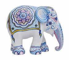 More details for elephant parade ornament collectable limited edition indian blues 10cm