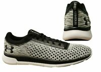 Under Armour Lightning2 Black Whit Lace Up Mens RunningTrainers 3000013 001 X6AB