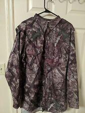 True Timber Vented Button Down Camo Shirt 2xl