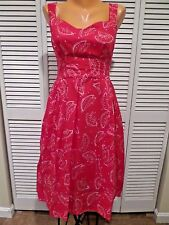 NWT Emily and Fin Watermelon Dress Valerie What Juicy Is What You Get sz Sm Read