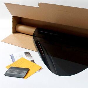 3D-vorgewölbt Tönungsfolie passgenau tiefschwarz 95/% Smart ForFour 2 W453 2014