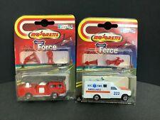 2 Majorette New York City Fire Dept Diecast Vehicles Fire truck/Ambulance France