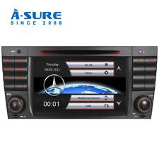 "7"" DAB+ DVD Player GPS sat nav for Mercedes Benz C Class CLK CLC W203 W209 AMG"