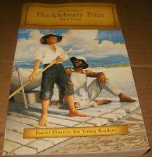 The Aventures of Huckleberry Finn by Mark Twain, Softcover Book,Good-Shape.