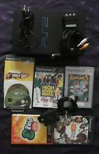 PS 2 Playstation 2 FAT Konsole Bundle mit Spiele, EyeToy Kamera