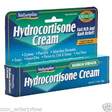 Natureplex 1oz Hydrocortisone Cream Free Shipping
