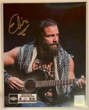 ELIAS wwe Wrestlemania exclusive Autograph 8x10 # 24 / 34 Signed