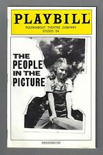 """Donna Murphy """"PEOPLE IN THE PICTURE"""" Chip Zien 2011 Opening Night Playbill"""