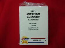 1993 HIGH DESERT MAVERICKS C. EVERETT MINOR LEAGUE TEAM SET FLEER PROCARDS NICE