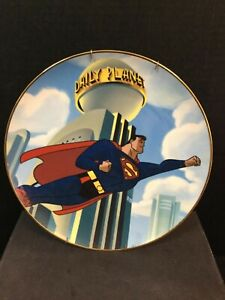 SUPERMAN M.O.S. The Warner Bros Galley COLLECTORS EDITION PLATE In Box 687/2500