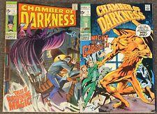 Chamber Of Darkness 1,7 Marvel Comics 1969 Stan Lee Buscema Thomas Wrightson Lot