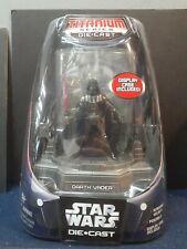 Hasbro Star Wars Die Cast Darth Vader Titanium NIP Mint!