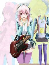 Custom Made Nitro Super Sonic Super sonico Cosplay Costume and cosplay nacklace