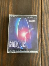 Star Trek Generations Audio Book Tape Cassette