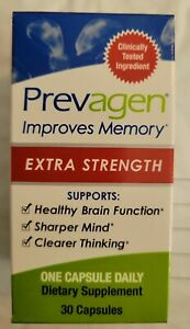 PREVAGEN EXTRA STRENGTH IMPROVES MEMORY. SUPPLEMENT 30(20MG) CAPSULES.BRAND NEW!