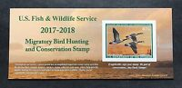 WTDstamps - #RW84A 2017 - 2018 - US Federal Duck Stamp - Post Office FRESH