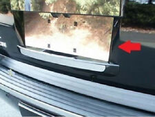 GMC 2007 2008 2009 2010 2011 2012 2013 2014 CHROME LICENSE PANEL TRIM!!