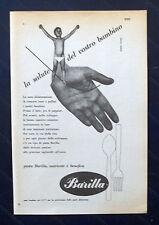 B749-Advertising Pubblicità-1953-BARILLA PASTA