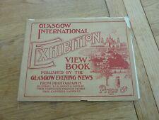 More details for 1901 original glasgow international exhibition photo view book 13 x 10