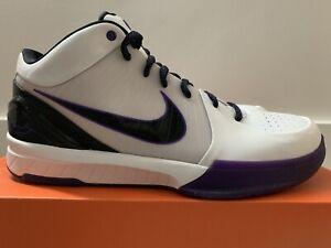 2009 Nike ZOOM KOBE IV 4 Inline Lakers OG No Protro 344335-101 DS Sz 11.5