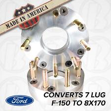 "USA Made | 7 Lug FORD F-150 | 7X150 To 8 Lug FORD 8x170 Wheel Adapter/Spacer 2"""