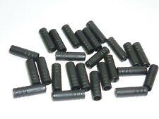 25pcs Jagwire 4mm Nylon Cable Housing Ferrules Ends Caps Shifter Derailleur Blac