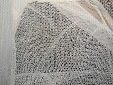 Ivory Bridal Hard Tulle Fabric Wedding Dress DIY 160cm wide. sold by Per 0.5M