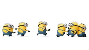 Yellow Cartoon Minions - Despicable Me Children's Movie Canvas Picture 20x30Inch