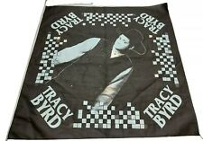 """Tracy Byrd Country Music Black White Square Bandana Scarf 21"""""""