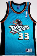 Rare Vintage Grant Hill Champion Pistons Basketball Jersey Men's Size 40