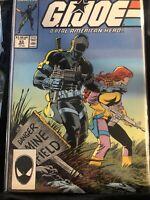 G.I. JOE #63 (1987) Marvel high grade Key issue