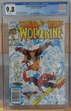 Marvel Comics Presents #50, CGC 9.8 White, Newsstand, 1990 Marvel, Wolverine
