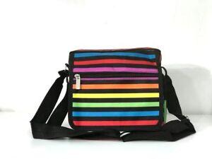 Women Multi Pocket Nylon Messenger Bags Cross Body Shoulder Bag Travel Purse