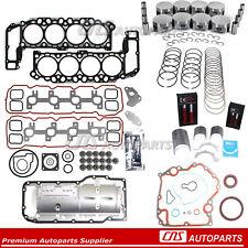 Full Gasket Piston Bearing Ring Engine Rebuild Kit 99-03 For Dodge Jeep 4.7L 287