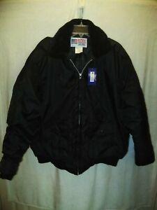 National Patrol XL Black Jacket
