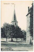 Ansichtskarte Seehausen/Wanzleben-Börde - Markt mit Blick zur Kirche um 1910