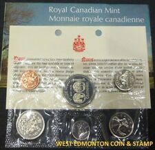 1974 UNCIRCULATED PROOF LIKE SET - CANADIAN 6-COIN SET - ENVELOPE & CERTIFICATE