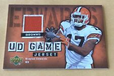 2006 Upper Deck Football Braylon Edwards Jersey Patch Card