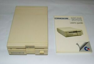 Rare Vintage Commodore 1581 3.5 Floppy Disc Drive Tested AS IS Pls Read W/ Guide