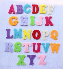26pcs letters(A-Z)Mixed Colors Felt Cardmaking Appliques decoration DIY 40mm