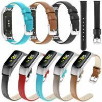 Für Samsung Galaxy Watch Fit-e Sports Leder Armband Uhrenarmbänder Band Strap
