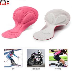 Ladies Cycling Underwear Gel 3D Padd Bicycle Riding Pink Pad Seat Cushion