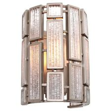 Varaluz 255W01NB Harlowe 1-Light Wall Sconce - New Bronze Finish with Textured