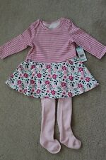 a599cd6cf NWT, Little Wonders Infant Girls Dress and Tights Set 3-6 Months Floral