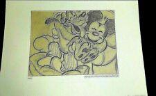 Disney  Mickey Collectable Original Story Sketch Pluto's Dream House 1938