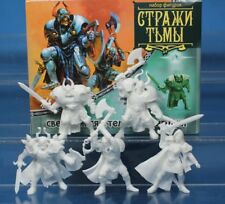 Plastic Toy Soldiers Knights of the Dark Guard Fantasy Battles 1/32 54 mm