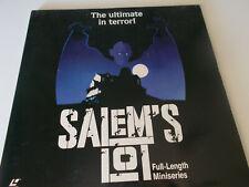 Laser Disc Extended Play SALEM'S LOT FULL LENGTH MINISERIES 2 Disc Set