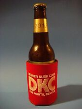 Beer Bottle Can Holder Koozie <> Kush Club Medicinal MMJ Dispensary <> Denver CO
