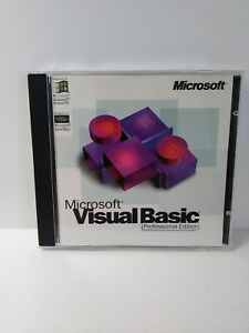 Microsoft Visual Basic 5.0 Professional Edition CD with Keycode