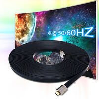 50FT PREMIUM HDMI CABLE For BLURAY 3D DVD PS4 XBOX LCD HD TV 1080P HDTV v1.4 2.0